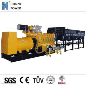 Ce générateur de gaz approuvés Set 20kVA - 2000kVA avec le biogaz de GNL de méthane GNC