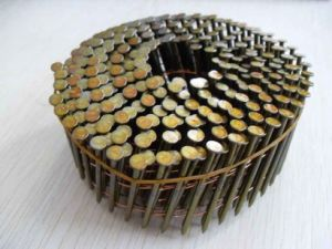 Chiodi caldi del tetto di vendita, chiodi comuni, chiodo della bobina per costruzione