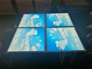 Reales Panel-künstliche Oberlicht-Instrumententafel-Leuchte des Anblick-3D blauen des Himmel-LED