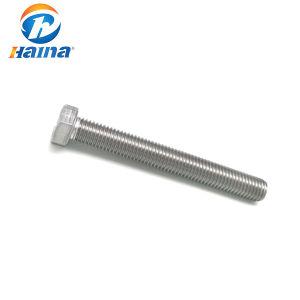 En acier inoxydable à haute résistance A2-70 SS201 Hex Appuyez sur le boulon avec écrou hexagonal