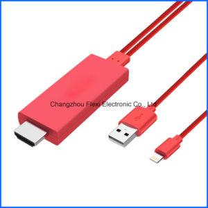 2m 4K 유형 C USB 유형 C에서 HDMI 케이블 HDTV 케이블 AV 지능적인 변환기