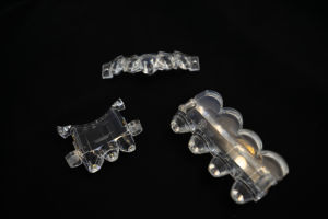 LED personalizados Near-Field lente óptica de plástico para a indústria automóvel a Lâmpada Principal