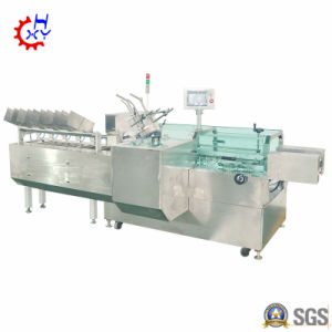 Machine d'emballage masque cosmétiques/cartoning machine