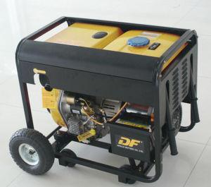 2.0Kw 2.0kVA 120/240V 60/50Гц переместить дизельный генератор с крышкой