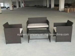 Patio al aire libre muebles de ratán y Jardín Sofá establece