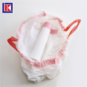 제조자 HDPE 부엌 롤 졸라매는 끈 쓰레기 봉지