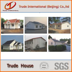 La estructura de acero de calibre de la luz económico Edificio Modular/mobile/prefabricados prefabricados/casa de familia