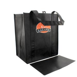 Bolsa de compras, hecha de tejido no tejido de algodón o de PVC