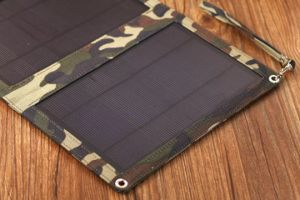12W Solar Dobrável Bateria de telefone celular Carregador Dobrável com marcação a certificação FCC