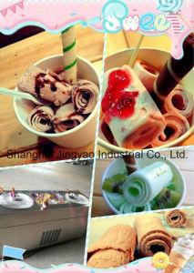 La crème glacée plaque froide Machine, machine de crème glacée de rouleau