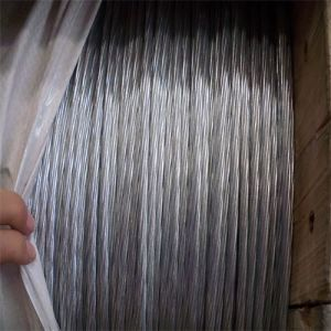 Zinco-Plating Hot-DIP Galvanized Steel Strand Wire per Communication Cable