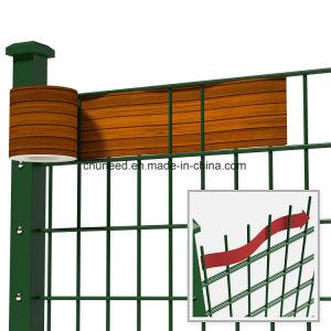Rete fissa dello schermo della tela incatramata della striscia del PVC per protezione Holzdeko del giardino di segretezza
