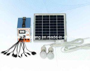 Portable 5W système d'alimentation d'énergie solaire (FC-D5)