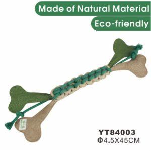 De natuurlijke Levering van het Huisdier van het Stuk speelgoed van het Huisdier van de Hond van de Hennep Interactieve (YT84005)