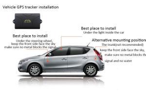 Dringlichkeit alarmiert Sicherheits-Auto GPS-Verfolger-System mit dem Gleichlauf der Plattform