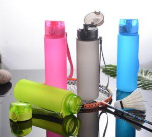 Venda por grosso de Garrafas potável esportivo FITNESS foscas plástico garrafa de água 1000ml