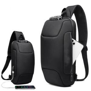 La eslinga de antirrobo de bloqueo de la mochila al hombro