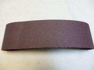 3 x 21 pouces 24 Grit avec le carbure de silicium de la bande abrasive