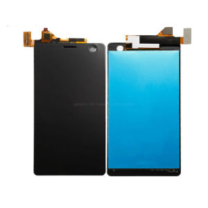 Mobile/Tela de toque LCD do telefone celular para Sony Xperia C4 Duplo SIM E5363 Tela sensível ao toque do visor LCD Preto