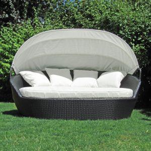 Sillas de playa Jardín al aire libre Piscina Cubierta de mimbre muebles de rattan Silla Hamaca recostada cama salón