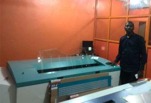 Ecoographix ha qualificato la macchina UV convenzionale di Platesetter PCT (calcolatore da placcare) per stampa in offset
