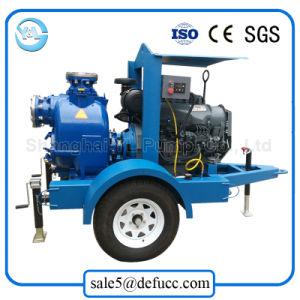 Centrífugas horizontais Auto Motor Diesel de Escorva da Bomba de lama/esgotos
