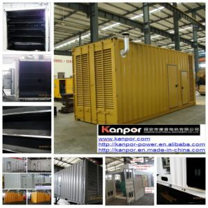 Kanpor Genset 45kVA/36kw 50kVA/40kwの無声発電機