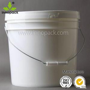 4L estilo Americano Grau Alimentício balde plástico