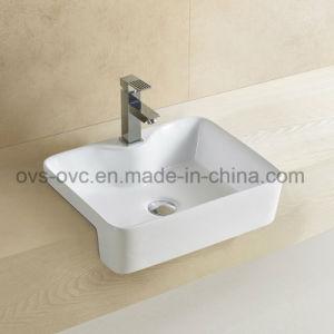 Gesundheitliche Warenchaozhou-Fabrik Squart keramisches Kunst-Bassin