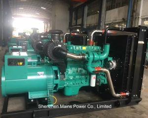 550kVA 440kw de potencia nominal de espera abrir generador Cummins Diesel Generator