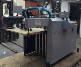 Automatisch Geen Kartonnen Koude het Lamineren Warpping Machine (sadf-540)