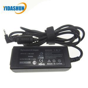 19V 2.37A AC DC Adaptador de corriente portátil tipo Desktop 3.0*1.1mm