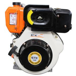14HP de enige Dieselmotor van de Cilinder met StandaardGeluiddemper