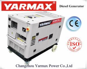 Комплект генератора Yarmax9.5kVA 10kVA охлаженный водой молчком тепловозный