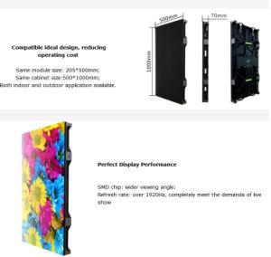 P4.81 écran LED de la publicité de plein air / location d'affichage à LED