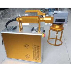 ABS/Metal/Plastic를 위한 손잡이 Type Fiber Laser Marking Machine