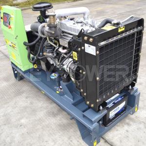 15kVAはタイプ小さいディーゼル発電機セットを開く
