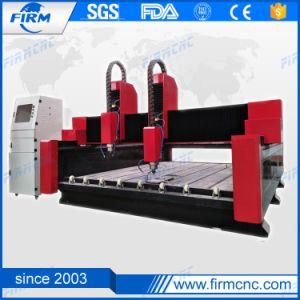 Fräser-Stich CNC-3D, der Maschine für Stein und Marmor schnitzt