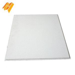Excellente absorption acoustique les panneaux de fibres minérales (610*610mm)