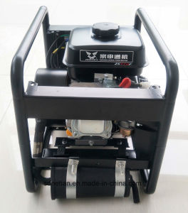 Umweltfreundliche 2000W 24V Hand des Europa-populäre niedrigsten Preis-, diegleichstrom-Diesel-Generator anstellt