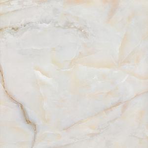 極度のコピーの大理石によって磨かれる艶をかけられたタイル(8D6869)