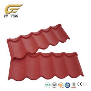 Material de techos ondulados de color del techo de teja metálica recubierta de piedra