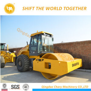 최신 판매 26ton Shantui 도로 쓰레기 압축 분쇄기 기계장치 롤러 Sr26m-3