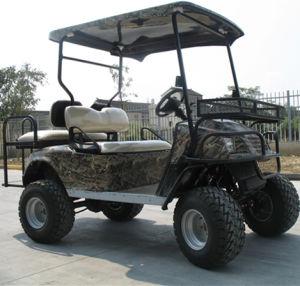 A Caça eléctrico Buggy. Dois lugares, carrinho de golfe, off road Buggy, ATV