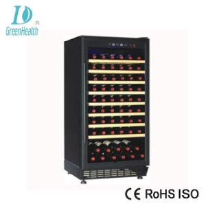 Green&Health kundenspezifische Glastür-elektrische Rotwein-Flaschen-Kühlvorrichtung