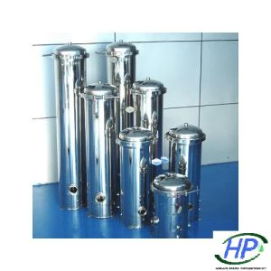 Alojamento do filtro de cartucho ss para sistema de equipamento de água RO Industriais