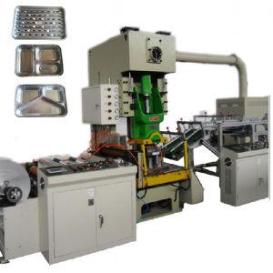 Desechables con lámina de aluminio de alta velocidad, máquina de fabricación de contenedores