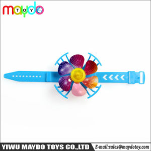 Het kleine Plastic Kleurrijke Speelgoed van het Horloge van de Ventilator voor het Stuk speelgoed van de Prijzen van de Giften van Birthty van de Partij van Jonge geitjes