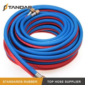O PVC flexível de alta pressão popular Twin Mangueira de solda para a máquina