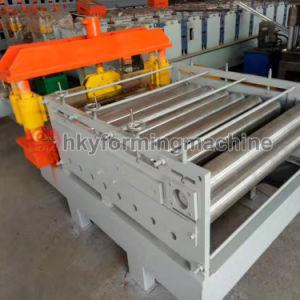 PLC panneau de toit voûté automatique machine incurvée